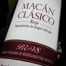 PP ADVOCATE WINES ~ Benjamín de Rothschild & Vega Sicilia ~ Macán Clásico 2011 ~ 92RP